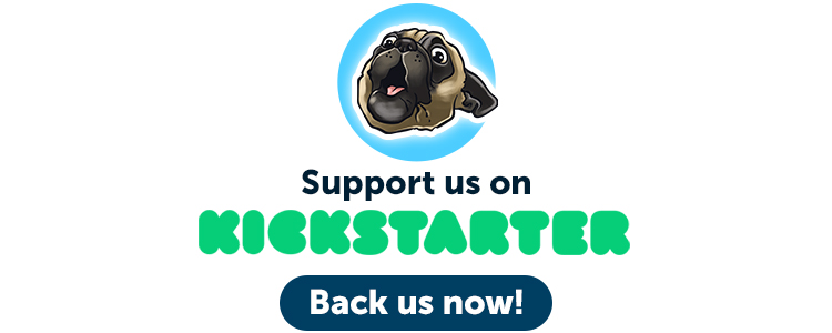 Support us on Kickstarter Back us now!